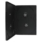 BOX 4 DVD черный (коробочка на 4 DVD)