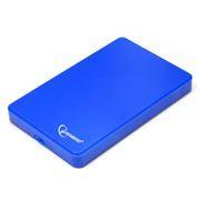 Внешний контейнер для 2.5 HDD S-ATA Gembird EE2-U2S-40P-B, синий, пластик, USB 2.0