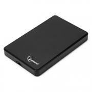 Внешний контейнер для 2.5 HDD S-ATA Gembird EE2-U2S-40P, чёрный, пластик, USB 2.0