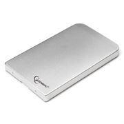 Внешний контейнер для 2.5 HDD S-ATA Gembird EE2-U2S-41-S, серебристый, металл, USB 2.0