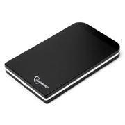 Внешний контейнер для 2.5 HDD S-ATA Gembird EE2-U2S-42, чёрный, металл, USB 2.0