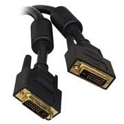 Кабель DVI-D Dual link (24+1) 4.5 м, ферритовый фильтр, позолоченные контакты, Konoos (KC-DVI2-5)
