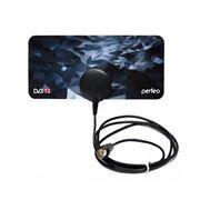Антенна комнатная для ТВ, VHF/UHF, DVB-T2, пассивная, Perfeo PLANE (PF-TV3214)