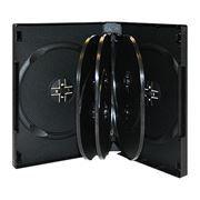 BOX 8 DVD черный (коробочка на 8 DVD)