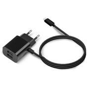 Зарядное устройство Jet.A UC-I14 2.1А 2xUSB + Lightning 8pin для iPhone/iPad, черное