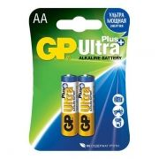 Батарейка AA GP Ultra Plus Alkaline LR6, 2 шт, блистер (GP 15AUP-2CR2)