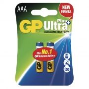 Батарейка AAA GP Ultra Plus Alkaline LR03, 2 шт, блистер (GP 24AUP-2CR2)