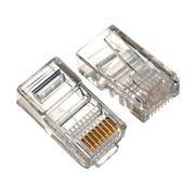 Штекер RJ-45 8p8c CAT 5e, позол. контакты, 5 шт, пакет БОБ, PROconnect (05-1021-3-9)