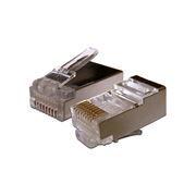 Штекер RJ-45 8p8c CAT 5e, экранированный, позол. контакты, 5 шт, PROconnect (05-1023-9)