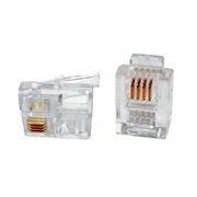 Штекер телефонный RJ-11/12 6p4c, 5 шт, пакет БОБ, PROconnect (05-1012-3-9)
