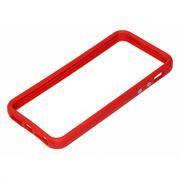 Бампер для iPhone 5/5S, красный, Rexant (40-0003)