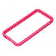 Бампер для iPhone 5/5S, розовый, Rexant (40-0004)