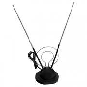 Антенна комнатная для аналогового ТВ, VHF/UHF/FM, Rexant RX-105 (34-0105)