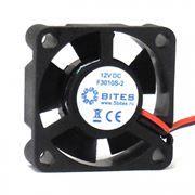 Вентилятор 30 x 30 x 10, 2 pin, 12V, втулка, кабель 15 см, 5bites (F3010S-2)