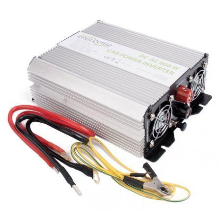 Автоадаптер-инвертор 800W EnerGenie EG-PWC-034, USB, 12v->220v