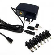 Адаптер питания для фотоаппаратов ROBITON Photo2500 3/3.3/5/6/6.5/7/8,4В 2500мА, 8 насадок (5038)