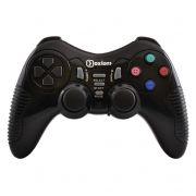 Геймпад беспроводной OXION OGPW03BK USB ПК/PS2/PS3, черный