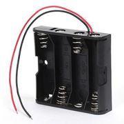 Отсек для элементов питания ROBITON Bh4xAA с двумя проводами (12330)