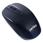Мышь беспроводная Perfeo Tracer, чёрная, USB (PF-02-WOP-B)