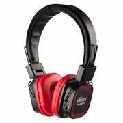 Гарнитура Bluetooth RITMIX RH-480BTH с MP3-плеером и FM-радио, красно-черная