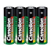 Батарейка AA CAMELION Heavy Duty R6, солевая, 4шт, термопленка