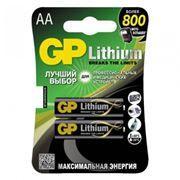 Батарейка AA GP Lithium FR6, 2 шт, блистер (15LF-2CR2)