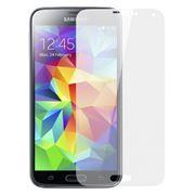 Защитное стекло для экрана Samsung Galaxy S5 (I9600/G900F), глянцевое, Perfeo  (0063)
