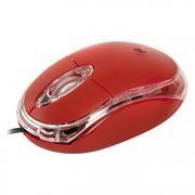 Мышь DEFENDER MS-900, красная, USB (52901)