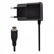 Зарядное устройство Oxion ACA-007 220V->5V 1A с кабелем mini USB 1 м