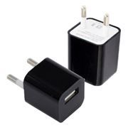 Зарядное устройство Oxion ACA-008, 220V->5V 1А USB, черное