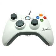 Геймпад OXION OGP06WH для Xbox 360, вибрация, белый