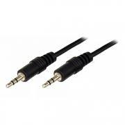 Кабель аудио 3.5 stereo plug -> 3.5 stereo plug, 0.5 м, Rexant (17-4100)