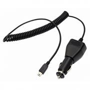 Зарядное автомобильное устройство Rexant, 2A miniUSB, витой кабель 2 м, черное (16-0242)