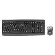 Комплект Gembird KBS-8001 Black, беспроводные клавиатура и мышь