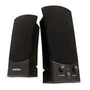 Колонки Perfeo Uno Black, USB (PF-210)