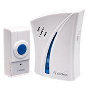 Звонок беспроводной КОСМОС KOC AG510B, 32 мелодии, 100м, 2xAA/1xA23