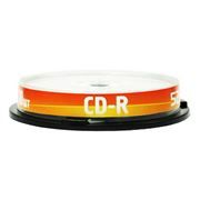 Диск CD-R Data Standard 700MB 52x, Cake Box, 10шт (13210-DSCDR01L)