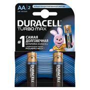 Батарейка AA DURACELL TURBO MAX LR6-2BL, 2 шт, блистер