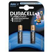 Батарейка AAA DURACELL TURBO MAX LR03-2BL, 2 шт, блистер