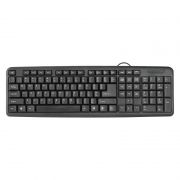 Клавиатура DEFENDER HB-420 USB, черная (45420)