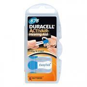 Батарейка DURACELL ActivAir DA675 для слуховых аппаратов, 6 шт, блистер