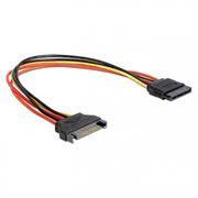 Удлинитель питания SATA (M) - SATA (F), 30см, Cablexpert (CC-SATAMF-01)
