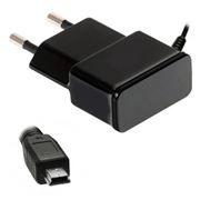 Зарядное устройство Oxion PC106BK, 220V->5V 1А miniUSB, черное 1 м