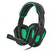 Гарнитура DEFENDER G-275 Warhead, зеленый/черный, игровая (64122)