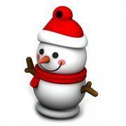 8Gb SmartBuy NY series Снеговик Snow Paul (SB8GBSnowP)