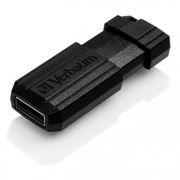 32Gb Verbatim PinStripe Black USB 2.0 (49064)