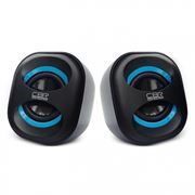 Колонки CBR CMS 333 Black/Blue USB
