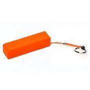 Зарядное устройство KS-is KS-200, оранжевое, с аккумулятором 2200 мА/ч, 0.8A USB