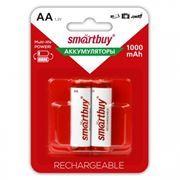 Аккумулятор AA SmartBuy HR6-2BL 1000мА/ч Ni-Mh, 2шт, блистер (SBBR-2A02BL1000)