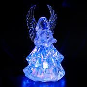 Сувенир ORIENT NA5501 Светящийся Ангел, многоцветная подсветка, питание от USB